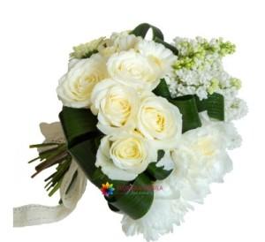 buchet liliac floraria mobila