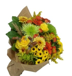 buchet de flori crizanteme